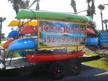 Kayak Rentals, Tours and Pickup for Kayaks and the Kayakers
