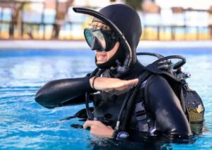 Certification for scuba diving